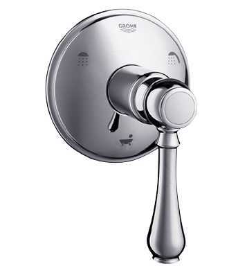 Grohe 19 225 Geneva 5-Port Diverter Trim