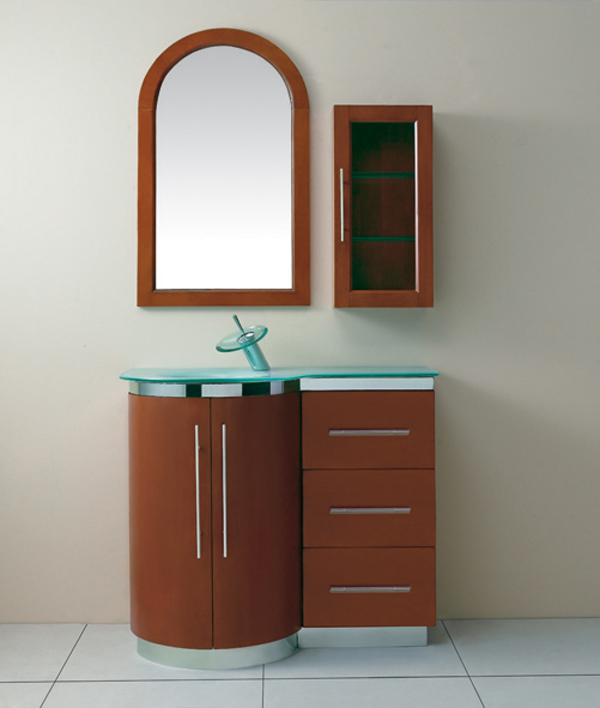 LADA Melony 100 Solid Wood Bathroom Vanity Set 40