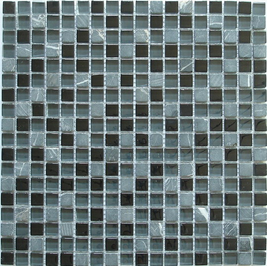 LADA GS02 Glass & Stone Mixed Series Mosaic Tile
