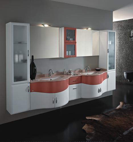 BMT Fantasy Evolution 108 Bathroom Double Sink Vanity Set 114