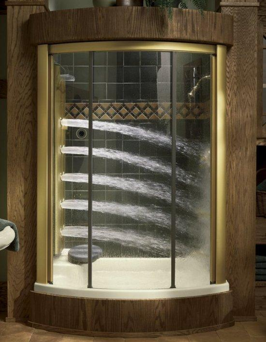 Kohler K-5161 Body Spa alcove enclosure