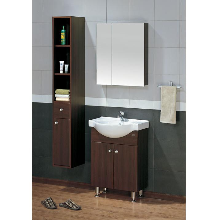 LADA Sorrento 60 Bathroom Vanity Set with Mirror Cabinet 24
