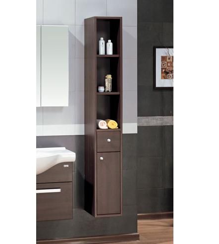 LADA Sorrento 25 Wall Hung Bathroom Storage Linen Cabinet 10
