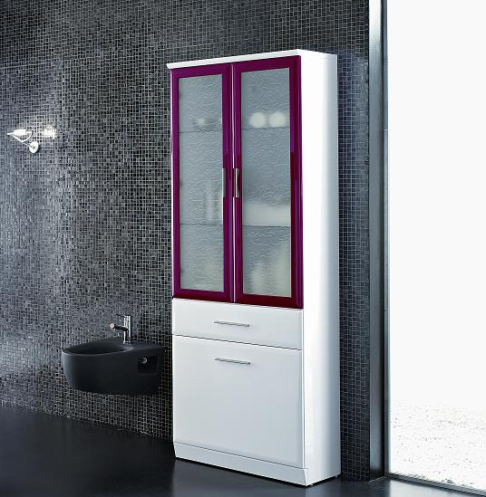 BMT Fantasy Evolution Collection 103.1 Bathroom Storage Linen Cabinet