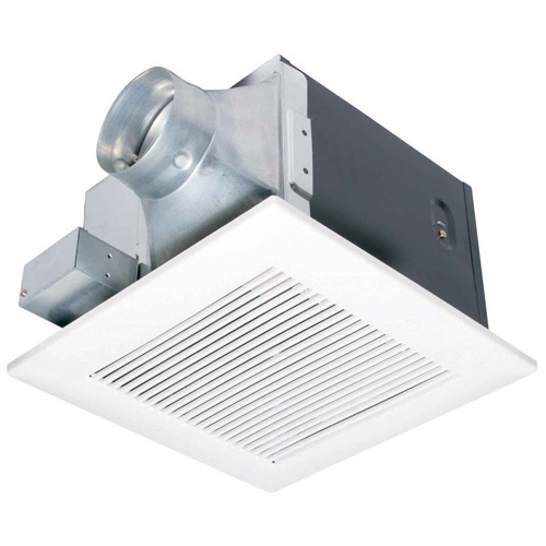 Panasonic FV-08VK3 WhisperGreen 80 CFM Standard Ceiling Mounted Ventilation Fan with DC Motor