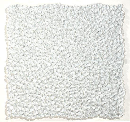 Mirage Glacier Series GL91 Raindrop Small Crushed Pieces Glass Mosaic Tile