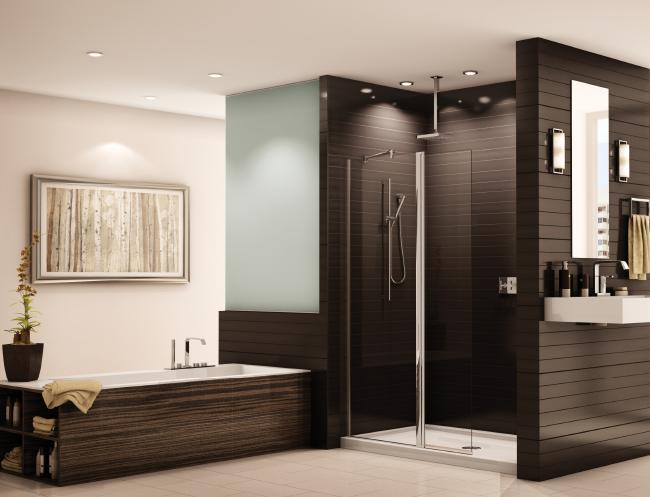 Fleurco Banyo Collection Sienna ESS24 Semiframeless Shower Shiled Door