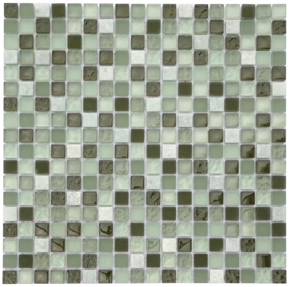 LADA GS52 Glass & Stone Mixed Series Mosaic Tile