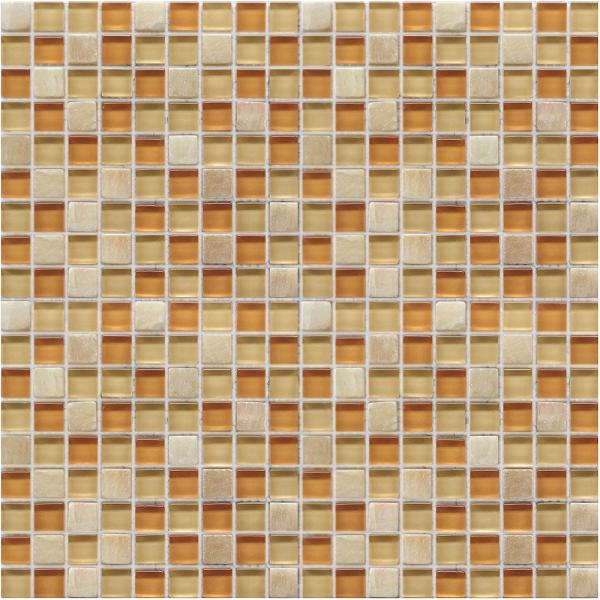 LADA GS56 Glass & Stone Mixed Series Mosaic Tile