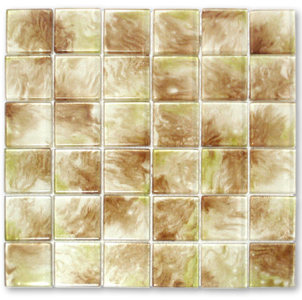 LADA WA04 Splendor Crystal Series Glass Mosaic Tile