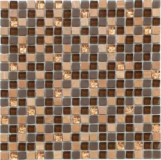 Mirage OP08 Opulence Series Toffee Crunch Mosaic Tile