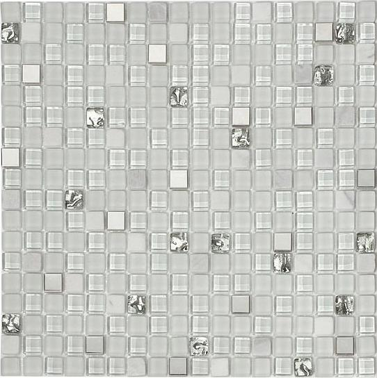 Mirage OP11 Opulence Series Ice Princess Mosaic Tile
