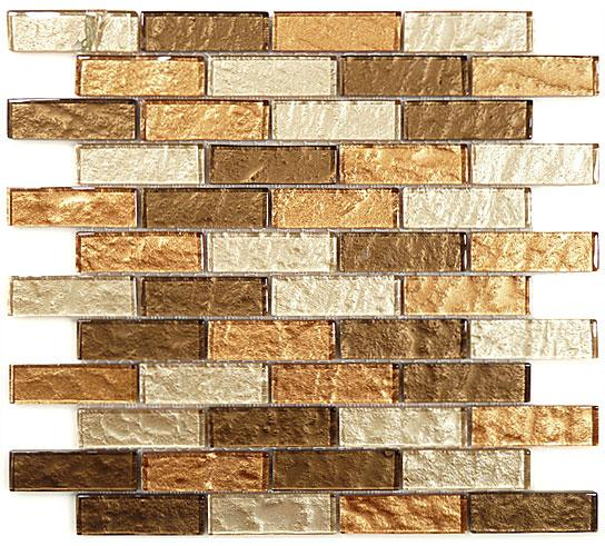 Mirage IMP10 Impression Series Toffee Latte Mosaic Tile
