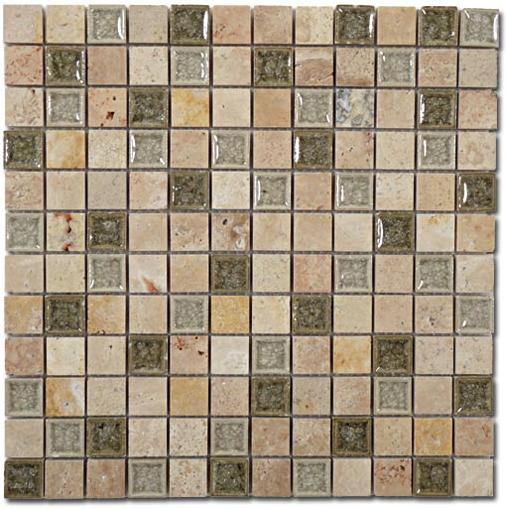 Mirage Glazzio TS-903 Tranquil Series Olive Grove Mosaic Tile