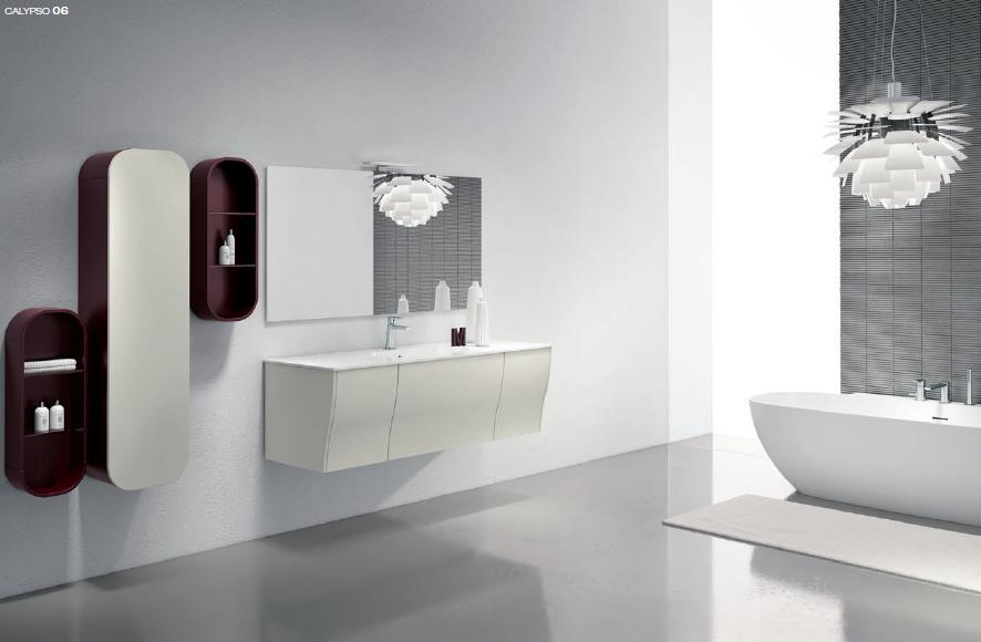 BMT Calypso Comp. 6 Bathroom Vanity 59