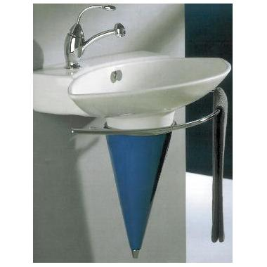 Luna-82 Wall-mount Washbasin with Towel Holder