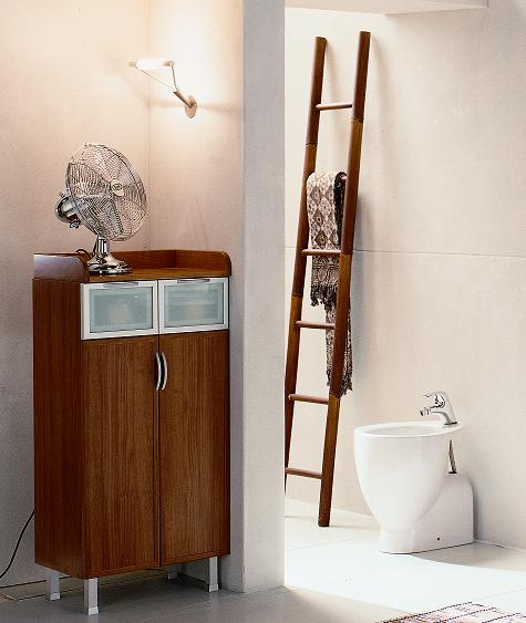 linen floor cabinet bmt domina collection bathroom storage linen floor