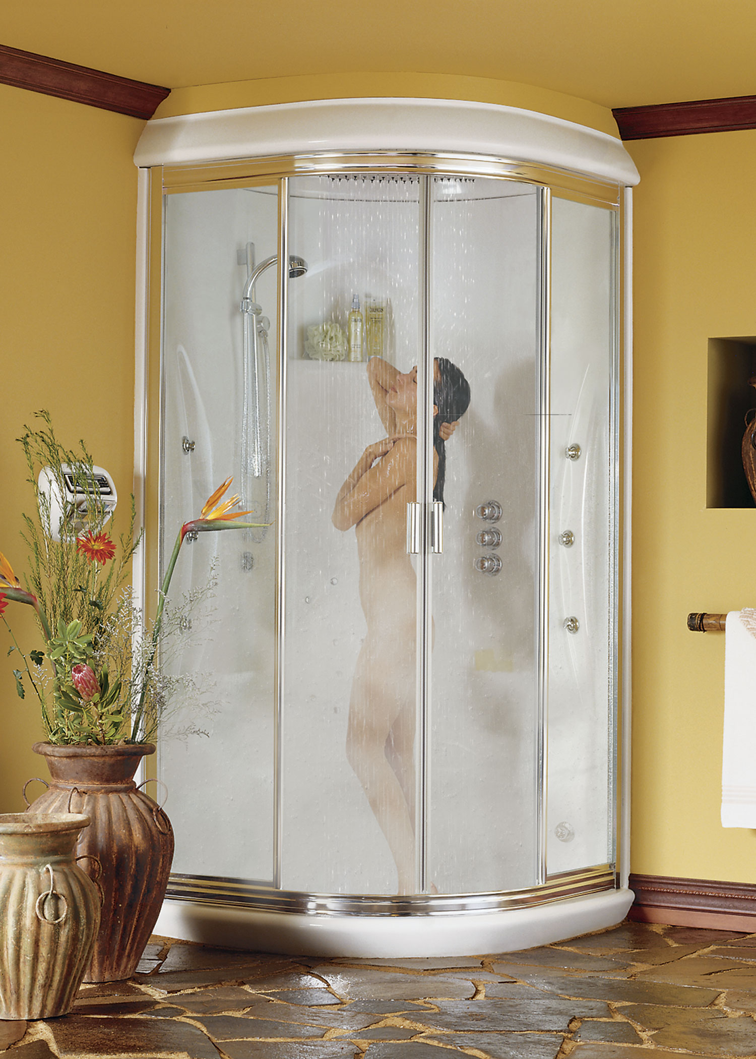 Universal ceramic tiles new york brooklyn whirlpools shower maax rainforest steam shower enclosure maax rainforest steam shower enclosure dailygadgetfo Image collections